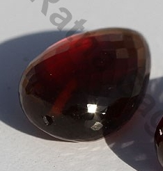 1 inch strand Spessartite Garnet Half Drilled Gemstones