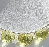 wholesale Lemon Quartz Carved Beads