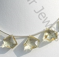 wholesale Scapolite Gemstone Polygon Diamond Cut