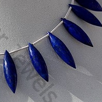 wholesale Lapis Gemstone Dew Drops