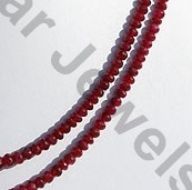 aaa Ruby Gemstone Faceted Rondelle