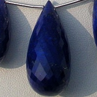 wholesale Lapis Gemstone  Tear Drops Briolette