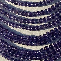 wholesale Tanzanite  Faceted Rondelles