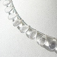 aaa Crystal Gemstone  Tear Drops Briolette