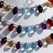 wholesale Semi Precious Gemstone Chandelier Briolette
