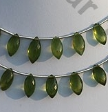 wholesale Vesuvianite Marquise beads