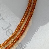 aaa Citrine Gemstone Plain Beads