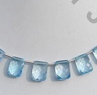 wholesale Blue Topaz Fancy Cut