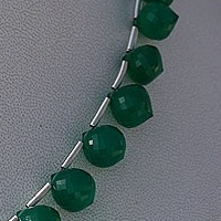 aaa Green Onyx  Onion Shape