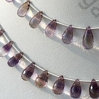 wholesale Ametrine Gemstone Beads  Tear Drops Briolette