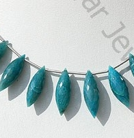 wholesale Chrysocolla Dew Drops Briolette