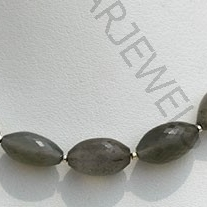 wholesale Grey Moonstone Dholki Briolette