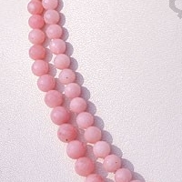 wholesale Pink Opal Gemstone  Faceted Rounds