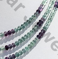 aaa Fluorite Gemstone Beads  Faceted Rondelle