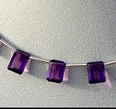 aaa Amethyst Gemstone Beads  Octagons