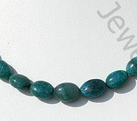 wholesale Chrysocolla Plain Oval Beads