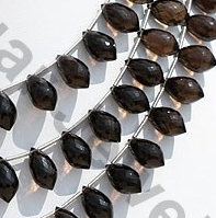 aaa Smoky Quartz Gemstone Chandelier Briolette