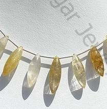 wholesale Golden Rutilated Quartz Dew Drops