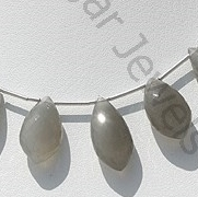 wholesale Grey Moonstone Dolphin Shape Beads