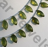 aaa Vesuvianite Marquise beads