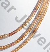 aaa Imperial Topaz  Faceted Roundels