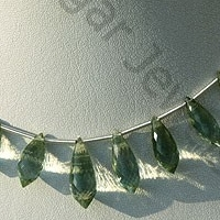 wholesale Green Amethyst Gemstone Chandelier Briolette