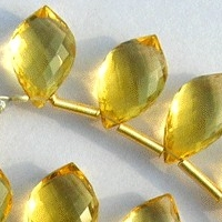 wholesale Honey Quartz Dolphin Shape Beads