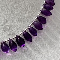 wholesale Amethyst Gemstone Chandelier Briolette