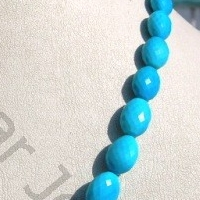 aaa Turquoise Gemstone Oval Faceted