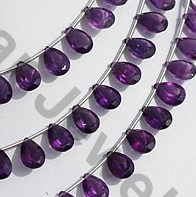 aaa Amethyst Gemstone Beads  Pan