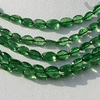 wholesale Tsavorite Gemstone Oval Faceted