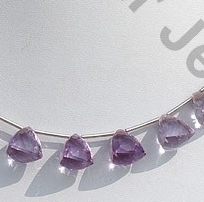wholesale Pink Amethyst Faceted Chestnut