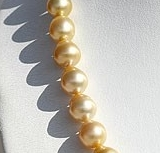 16 inch strand Pearl Plain Round