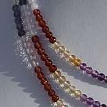 16 inch strand Semi Precious Gemstone Faceted Rondelle
