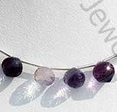 wholesale Fluorite Gemstone Onion Shape Beads