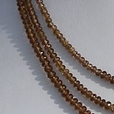 16 inch strand Color Change Garnet  Faceted Rondelle