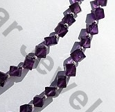 aaa Amethyst Gemstone  Faceted Cube
