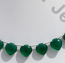 wholesale Green Onyx Betel Briolette