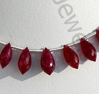 wholesale Ruby Gemstone Chandelier Briolette