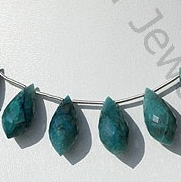 wholesale Chrysocolla Chandelier Briolette