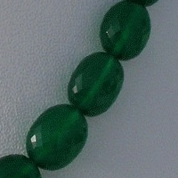 aaa Green Onyx  Oval Faceted