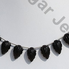 wholesale Smoky Quartz Carved Beads