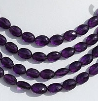 wholesale Amethyst Gemstone Oval Faceted