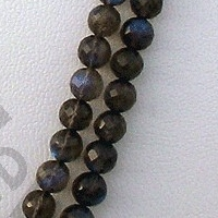 aaa Labradorite Blue Power Faceted Rounds Beads