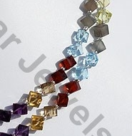 aaa Semi Precious Gemstone Faceted Cube