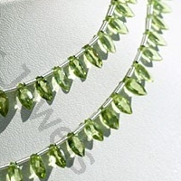 wholesale Peridot Gemstone Beads  Marquise