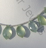 wholesale Prehnite Gemstone Dolphin Shape Beads