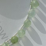 aaa Prehnite Gemstone  Onion Shape
