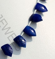aaa Lapis Pentagon Shape Beads