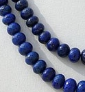 16 inch strand Lapis Gemstone  Faceted Rondelles